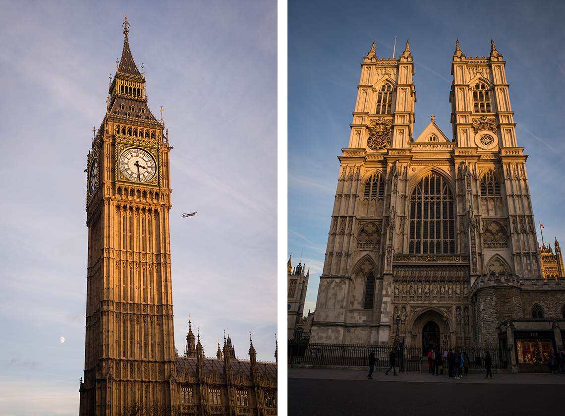 Big Ben und Westminster Abbey - London - Sandra Klary Fotografie