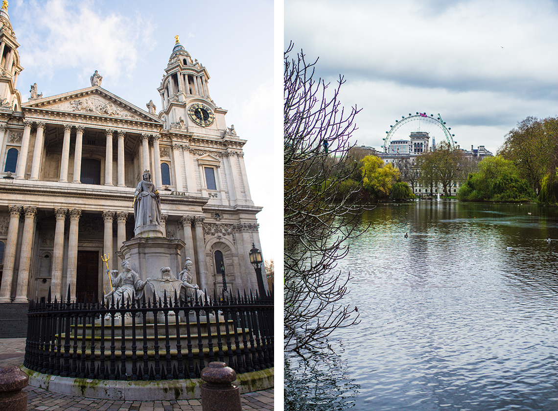 St. Paul's Cathedral und St. James's Park  - London - Sandra Klary Fotografie